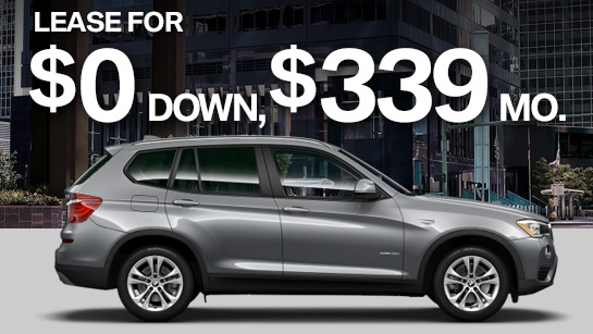 Drive A New 2016 Bmw X3 Xdrive28i With Zero Down And Only