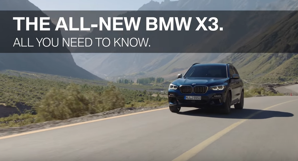 All You Need To Know About The All New Bmw X3 Marlow Heights Bmw Dealer