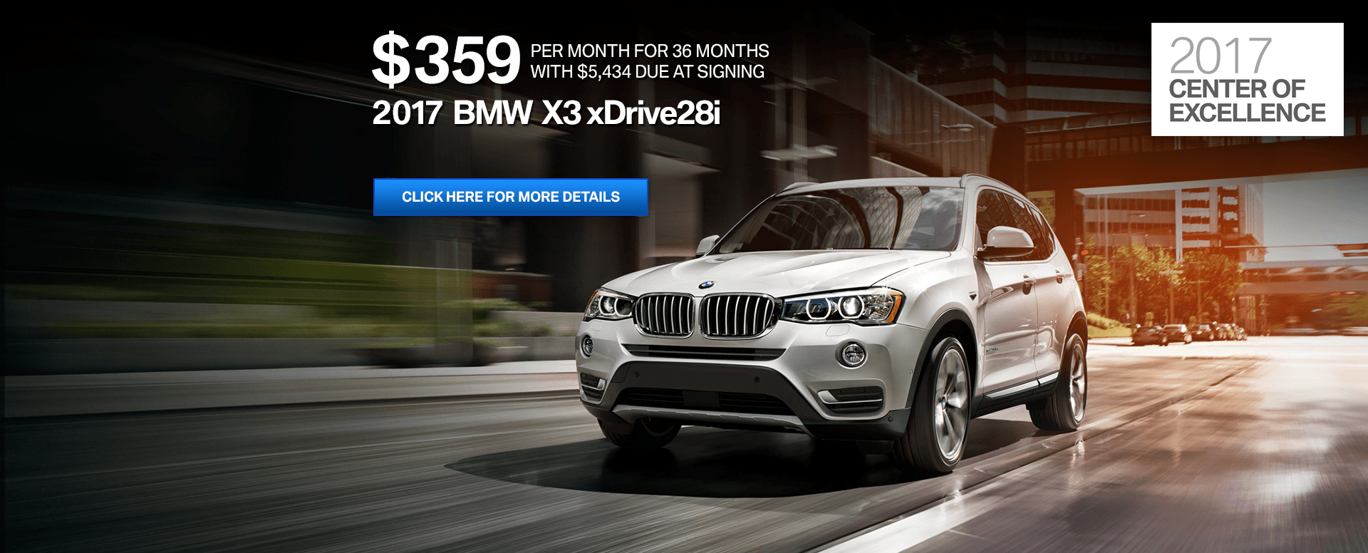Drive Away From Passport Bmw In A New Bmw X3 For Only 359