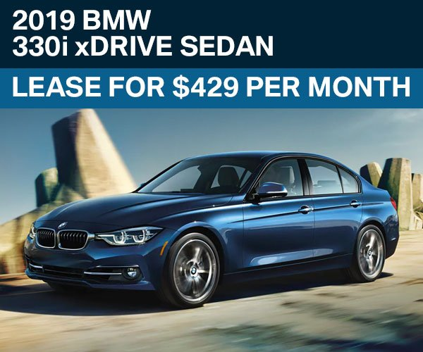 Lease A New BMW 3 Series 330i XDrive Sedan For Only $429