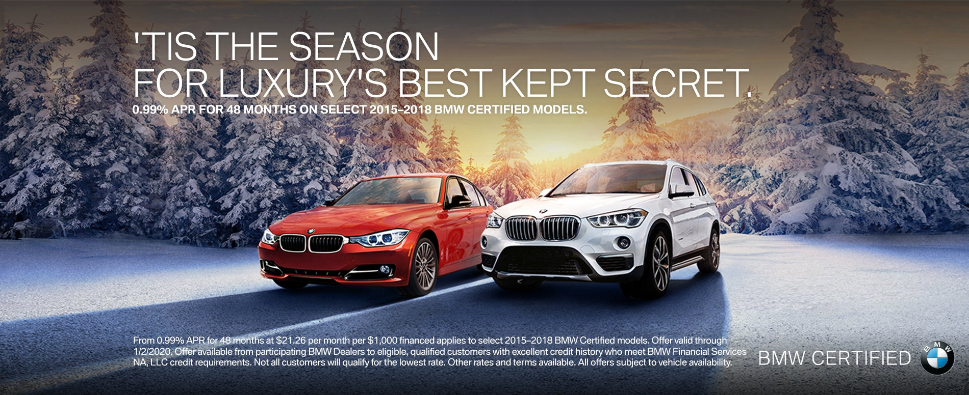 Get 0 99 Apr For 48 Months On Bmw Certified Models At Passport Bmw Marlow Heights Bmw Dealer